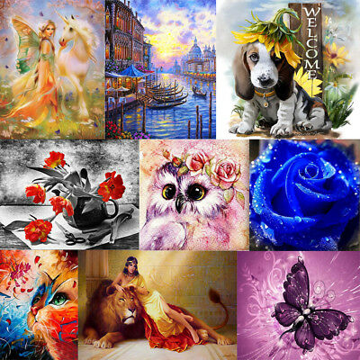 DIY 5D Diamond Painting Embroidery Cross Crafts Stitch Home Wall Decors Craft