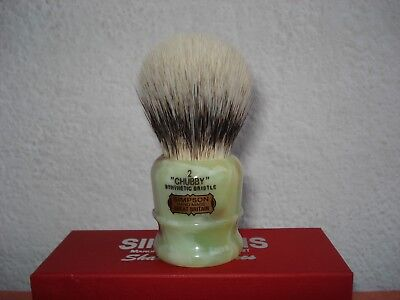 Simpson Chubby 2 Synthetic Bristle / Faux Jade/Shaving Brush/Limited Edition
