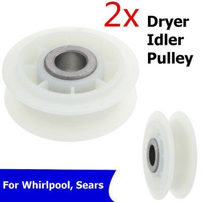 2X WP279640 For Whirlpool Kenmore Dryer Idler Pulley Roller PS334244 AP3094197