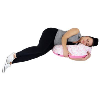 iSafe Maternity Pillow - White + Vacuum Storage Bag + Pillow Case