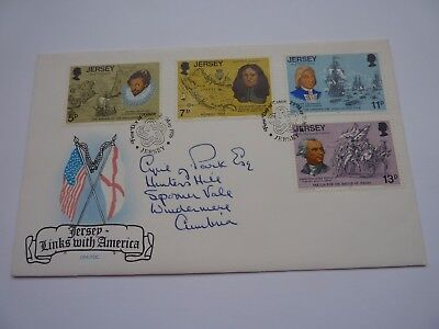 Jersey Links with America 1976 (05) FDC