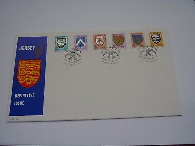 Jersey Definitive Issue 1981 (07) FDC