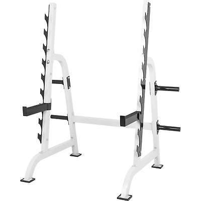 GORILLA SPORTS® Kniebeugenständer Power Squat Rack Kraftstation verstellbar