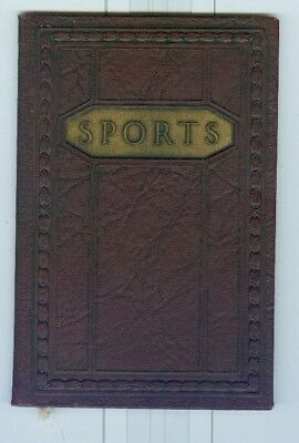 1924 Lincoln Motor Cars, Sports Records Adverting Booklet