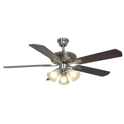 Hampton bay glendale 52 in brushed nickel ceiling fan 3 light kit hampton bay glendale 52 in brushed nickel ceiling fan 3 light kit frosted glass mozeypictures Image collections