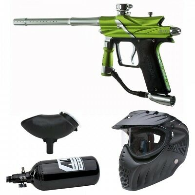 Azodin Blitz 3 HP Paintball Set - green/silver