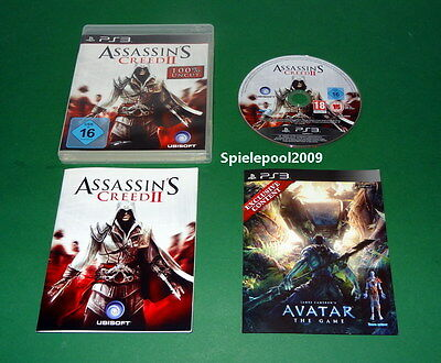Assassin's Creed II 2 fuer Sony Playstation 3 PS 3 mit An. und OVP