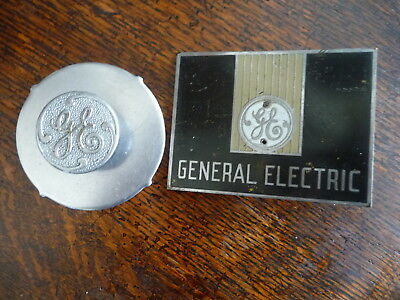 VINTAGE 1930s GENERAL ELECTRIC ADVERTISING GE MACHINE SIGN DIAL? PARTS