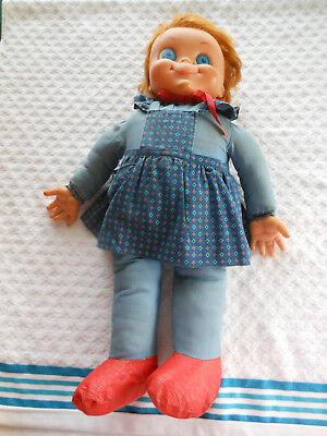 Rare Vintage Mrs. Beasley with Red Shoes Doll!