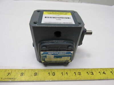 Boston Gear 710-20-J Right Angle Worm Gear Speed Reducer 20:1