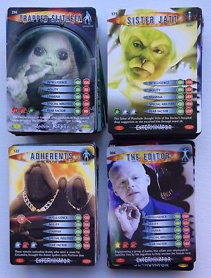 Trade Cards - Doctor Who, Battles In Time - 241 Cards