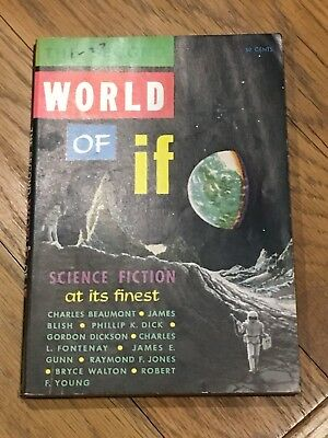 The Second World of If - US SF digest - inc. Philip K. Dick, Beaumont, Blish etc