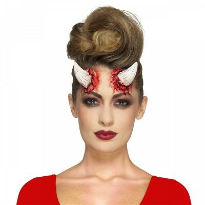 Devil Horn Prosthetic Costume Accessory Adult Halloween