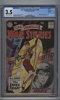 Star Spangled War Stories 88 (CGC 3.5) OW/W pages; Mademoiselle Marie (c#16638)