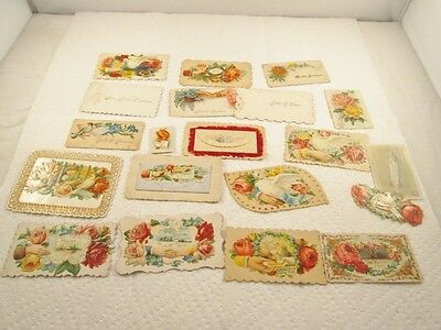 Assortment of Victorian Calling Cards #34