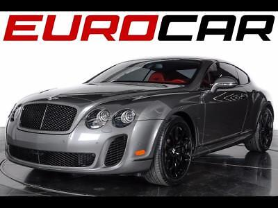 2010 Bentley Continental GT Supersports 2010 Bentley Continental Supersports - Two-Tone Interior w/ Carbon Fiber