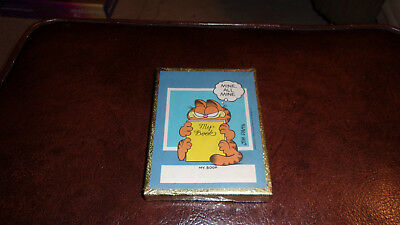 "Garfield the Cat ""Mine All Mine"" 50 Book Plates Sealed in Box by Antioch"