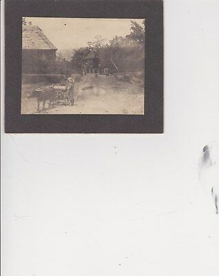 Japanese Painted Photograph