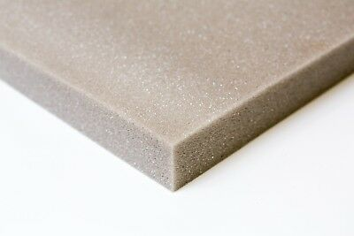 upholstery foam cushions / sofa pads select any size / depth cut to size GREY