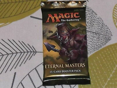 MTG Magic The Gathering Eternal Masters 15 Card Booster Pack brand new sealed pa