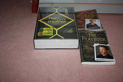 How I Met Your Mother: The Complete Series, The Playbook & The Bro Code Books
