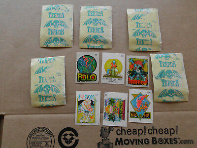 1980s  Terror Stamps X 5 Packs  Rare
