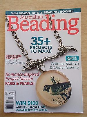 Australian Beading Vol 4 #1~35+ Projects~Jewellery~Earrings~Necklaces~Rings...