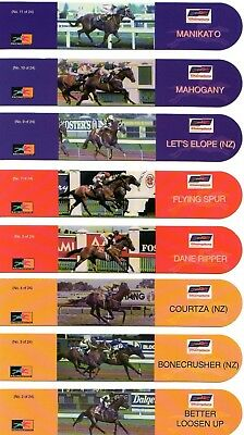 21 Horse Racing Bookmarks - MANIKATO, BONECRUSHER, LET'S ELOPE, VO ROGUE + MORE!