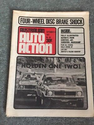 Australian Auto Action - September 14 1973 - Brock and Bond First and Second