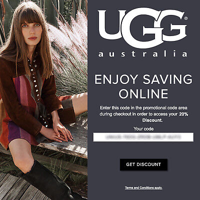 20% off UGG Australia Promo-Coupon Code Exp 12/20/17 Online Only* boots slippers