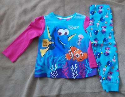 Baby Girl - 2 Piece Pyjamas - FINDING DORY - 12 / 18 mths - New - MiniClub