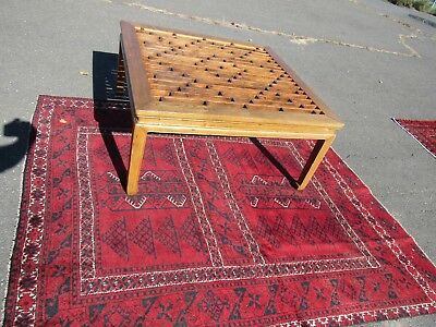"""Unique RARE Asian coffee table 39"""" by 41"""", 20"""" tall"""