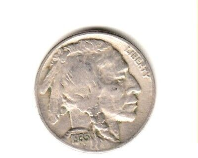 HOLIDAY SPECIAL      1935-S    BUFFALO NICKEL GOOD CONDITION--..99c SHIPPING