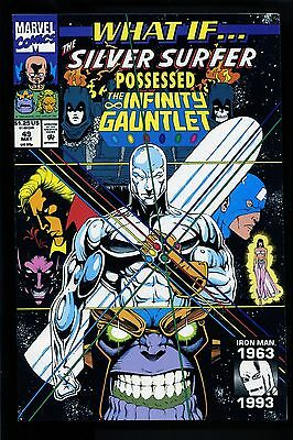 What If #49 Silver Surfer Infinity Gauntlet Thanos Captain America uncirculated