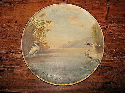 ANTIQUE LONGPARK TORQUAY PLAQUE / CHARGER - 11 inch