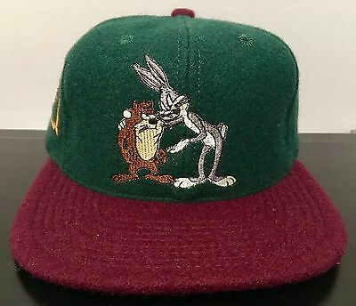 Vintage Acme Clothing Co. Bugs Bunny And Taz Wool SnapBack Limited Edition 2500