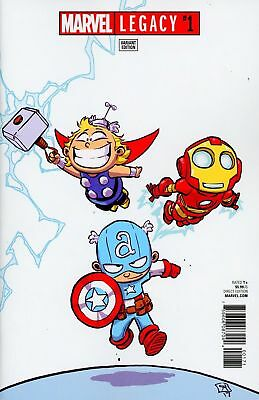 Marvel Legacy #1 Skottie Young Variant Marvel Comics NM 1st Print 2017
