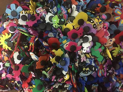 50PCS Different Random PVC Shoe Charms For Girls Shoe Buckles Xmas Gifts