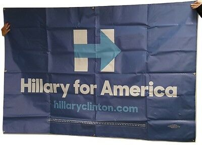 2016 Huge Hillary for America Official Campaign Banner