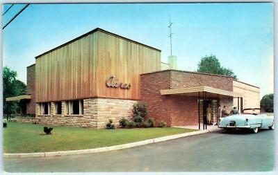 WHIPPANY, New Jersey  NJ    THE ACRES Restaurant  1950s Convertible  Postcard