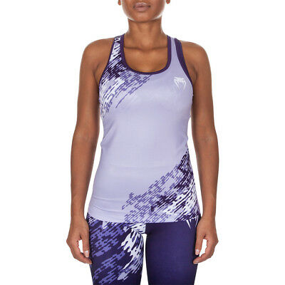 Venum Women's Neo Camo Racerback Active Tank Top - Dark Purple