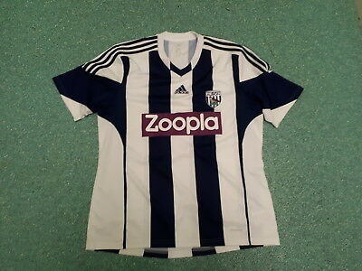 West Bromwich Albion Extra Large XL Mens Home Football Shirt