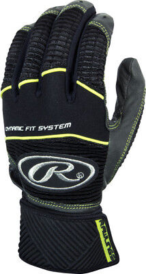 Rawlings Workhorse WORKCSBG-GR-90 Graphite L Batting Gloves