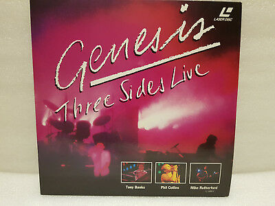 Genesis ‎– Three Sides Live Laser Disc 1992