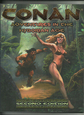 MONGOOSE, CONAN D20/OGL RPG - ADVENTURES IN THE HYBORIAN AGE (2nd edition)
