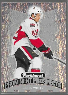 17/18 UD Parkhurst Prominent Prospects Rookie Colin White PP-3 Senators
