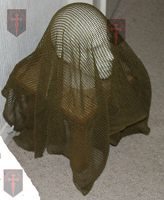 New Olive Green Sniper Veil SCRIM NET Scarf ( Military concealment