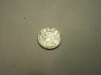 Vintage UNKNOWN China-Taiwan-Asia Coin NO YEAR-Silver Color