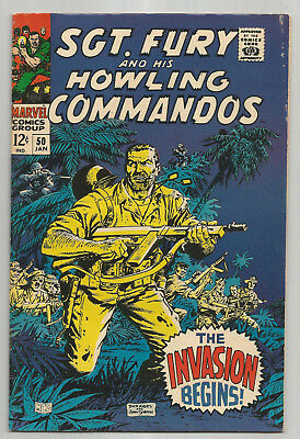 Sgt. Fury And His Howling Commandos # 50 * 1967