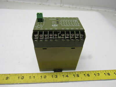 Pilz PZE7 6S/10 Safety Relay Module 24VDC